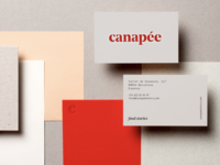Canapée Business Cards