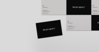 The Pet Agency Business Cards