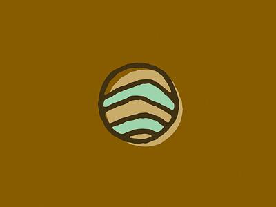 Elemental Icon - Sediment elemental branding nature illustration icon layers sediment rock earth