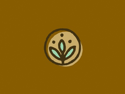 Elemental Icon - Vegetation elemental flower illustration branding nature icon plant