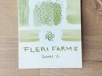 Fleri Farms - Printed