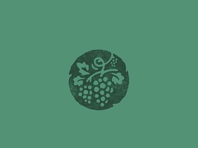 couples counseling logo wine vineyard organic illustraion counseling grapes