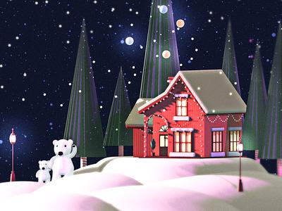 Feliz Navidad Wallpaper mexico 3d art 3d illustrator designer illustration wallpaper xmas
