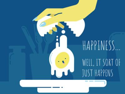 Happines... happens