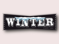 Winter logo by Humayun