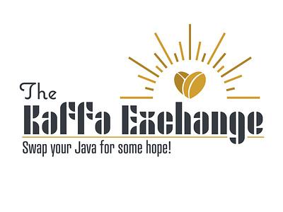 The Kaffa Exchange - Concept 1 vector design illustration typography logo