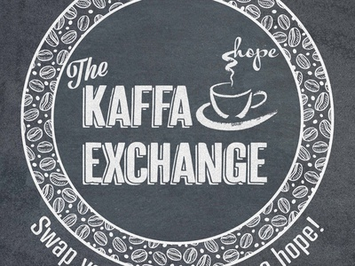 The Kaffa Exchange Logo - Final website vector illustration design typography logo