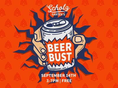 Scholz Beer Bust