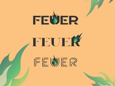 Feuer Logo Concept