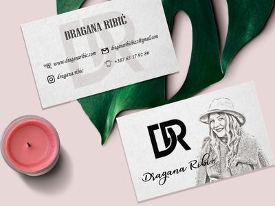 Business card design for DR