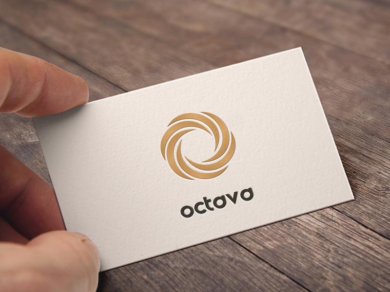 Octava logo photoshop moderndeisgn modernlogo visualidentity visual art visualdesign branddesigner branddesign branding logopassion logos logosign logomarks logohero logomark logodesign affinitydesigner vector logotype logo