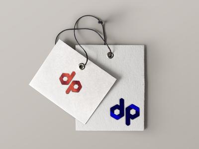 DP logo design concept