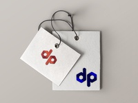 DP logo design concept