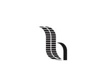 Letter mark B