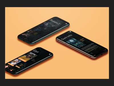 Dark (TV series) app design uxdesigner uiuxdesigner uidesigner darknetflix ios android uiux tvseries dark uiuxdesign design uidesign application ux netflix
