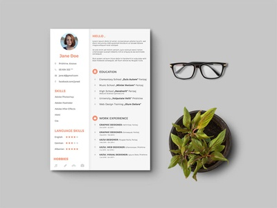 Free General ResumeTemplate free design free resume template freebies cover letter free cv template freebie cv template curriculum vitae resume cv
