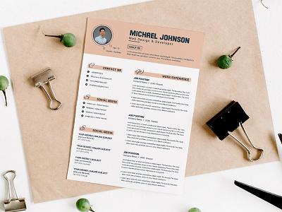 Free Elegant Word Resume Template cover letter free cv template design free resume template freebies freebie cv template curriculum vitae resume cv