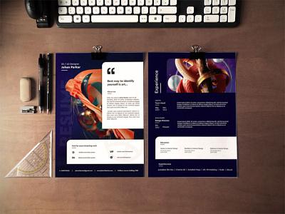 Free Artist Designer Resume Template branding free free cv template design free resume template freebies freebie cv template curriculum vitae resume cv