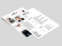 Free Portfolio Resume Template with Cover Letter