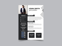 Free Modern Formal Resume Template