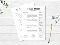 Free MS Word Resume Template