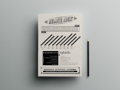 Free Artistic Resume Template