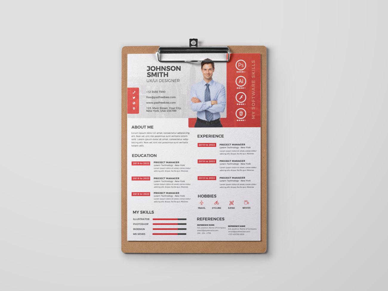 Free Formal PSD Resume Template free resume template free cv template freebies freebie free cv template curriculum vitae resume design cv