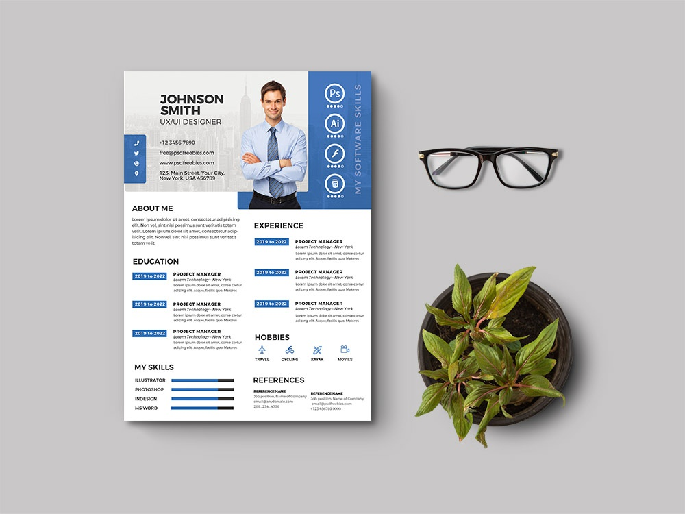 Free Professional Curriculum Vitae Template By Julian Ma On
