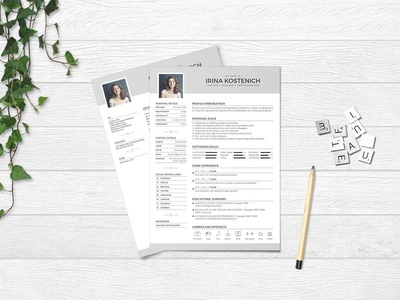 Free Trainer Resume Template