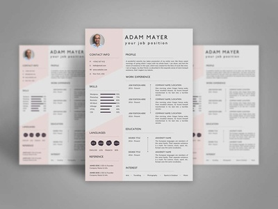 Free Universal Resume Template