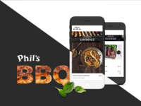 Phil's BBQ - California Restaurant - Mobile Experience