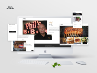 Phil's BBQ - California Restaurant - Full Design