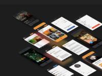 Taste.io - Mobile App - Complex Design