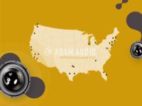 ADAM Audio - Interactive Map - Design Concept
