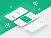 Tegra Accounting - Mobile version of website - Design Concept