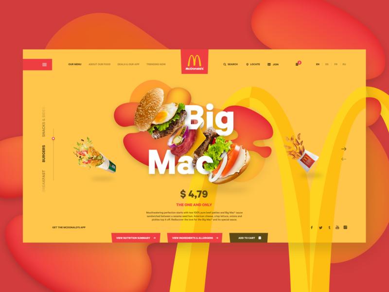 McDonald's - Web Concept
