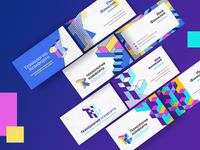 Comfort Technology - Management Company - Business Card & Logo