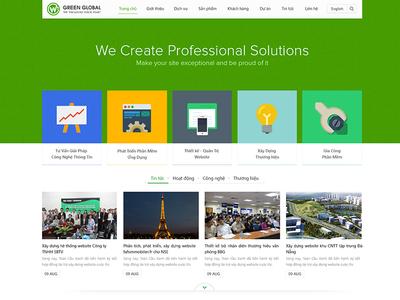 Green Global New Design