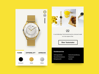 Shopify Productpage tastemaker.watch