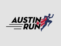 Austin Run Logo Design