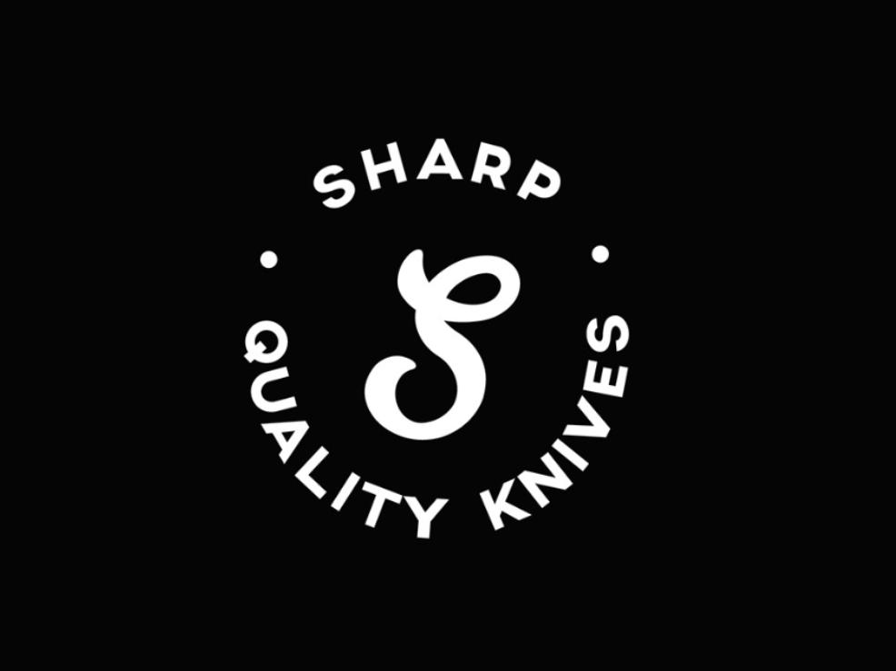 Sharp Knives Logo Design homeware knives design logo 30 day logo challenge branding graphic design thirtylogos
