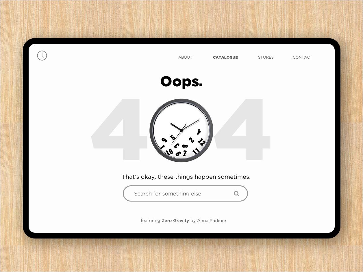 404 Page webpage uxui ux dailyui error page 404 page 404