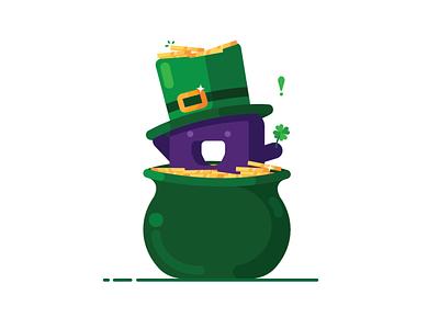 Saint Patrick's Day Pucci pucci saint paddys freelance illustration nzxtdesign saint patricks day icon design nzxt illustrator vector
