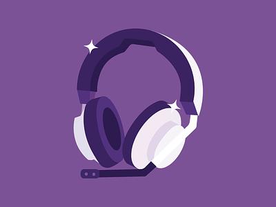 NZXT AER Headset flat vector nzxt vector audio headphones icon vector icon headset