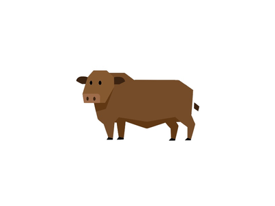 Cow Icon farm cow illustrator mark icons icon vector cattle