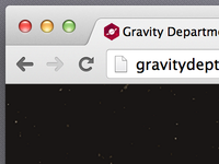 Favicon for GravDept