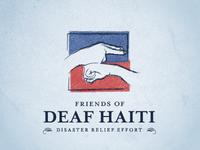 Friends of Deaf Haiti Logo