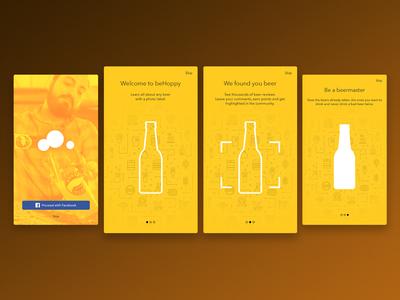Beer app onboarding