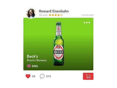 Newsfeed UI Study mobile app new ui feed