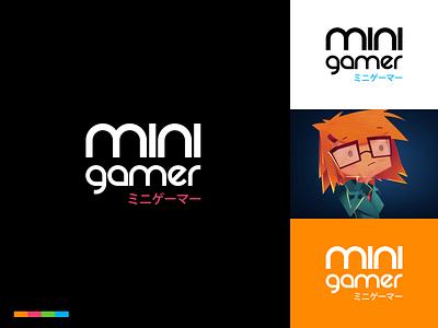 Minigamer Branding design logotype logo arcade games brand design branding